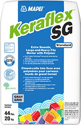 Keraflex Mortar for Large and heavy tile projects